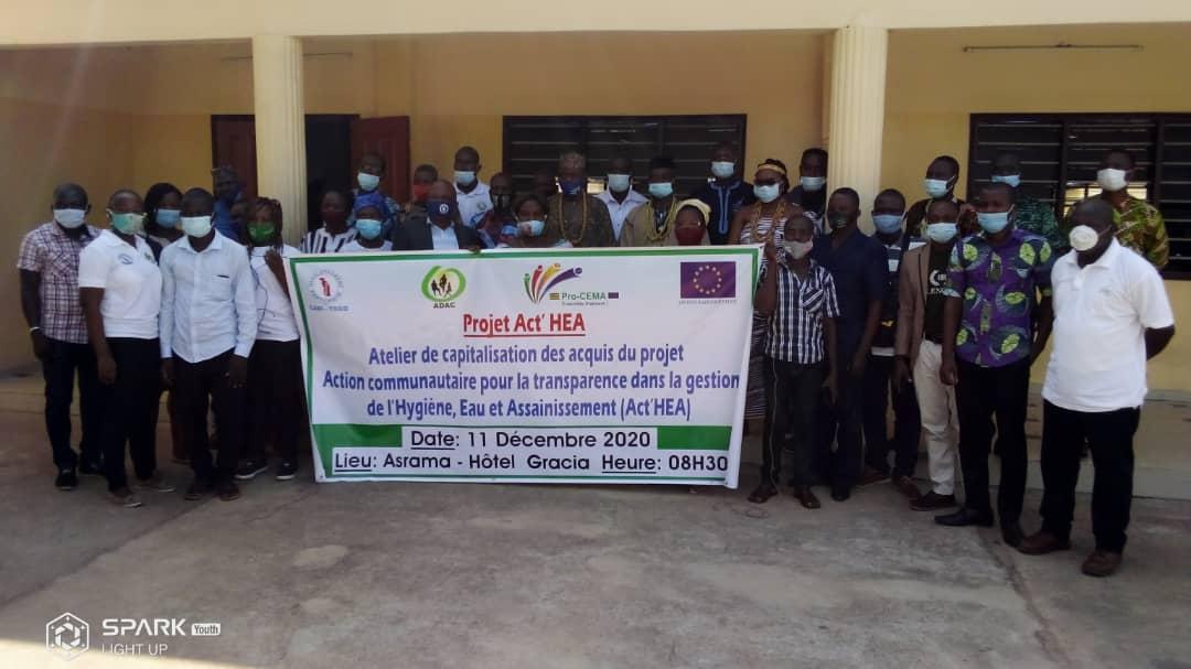 Atelier de capitalisation à Asrama sur le Projet Act'HEA